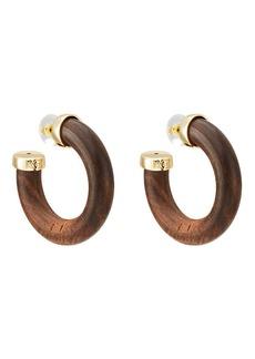 Kenneth Jay Lane Women's Tube Hoop Earrings