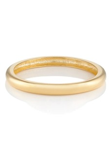 Kenneth Jay Lane Women's Yellow - Gold-Plated Domed Bangle - Gold