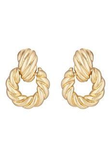 Kenneth Jay Lane Women's Yellow - Gold-Plated Earrings - Gold