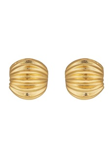 Kenneth Jay Lane Women's Yellow - Gold-Plated Shrimp Earrings - Gold