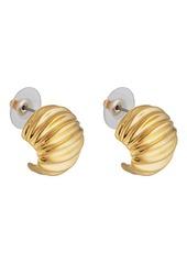 Kenneth Jay Lane Women's Yellow - Gold-Plated Shrimp Earrings - Gold
