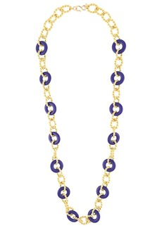 Kenneth Jay Lane knotted necklace