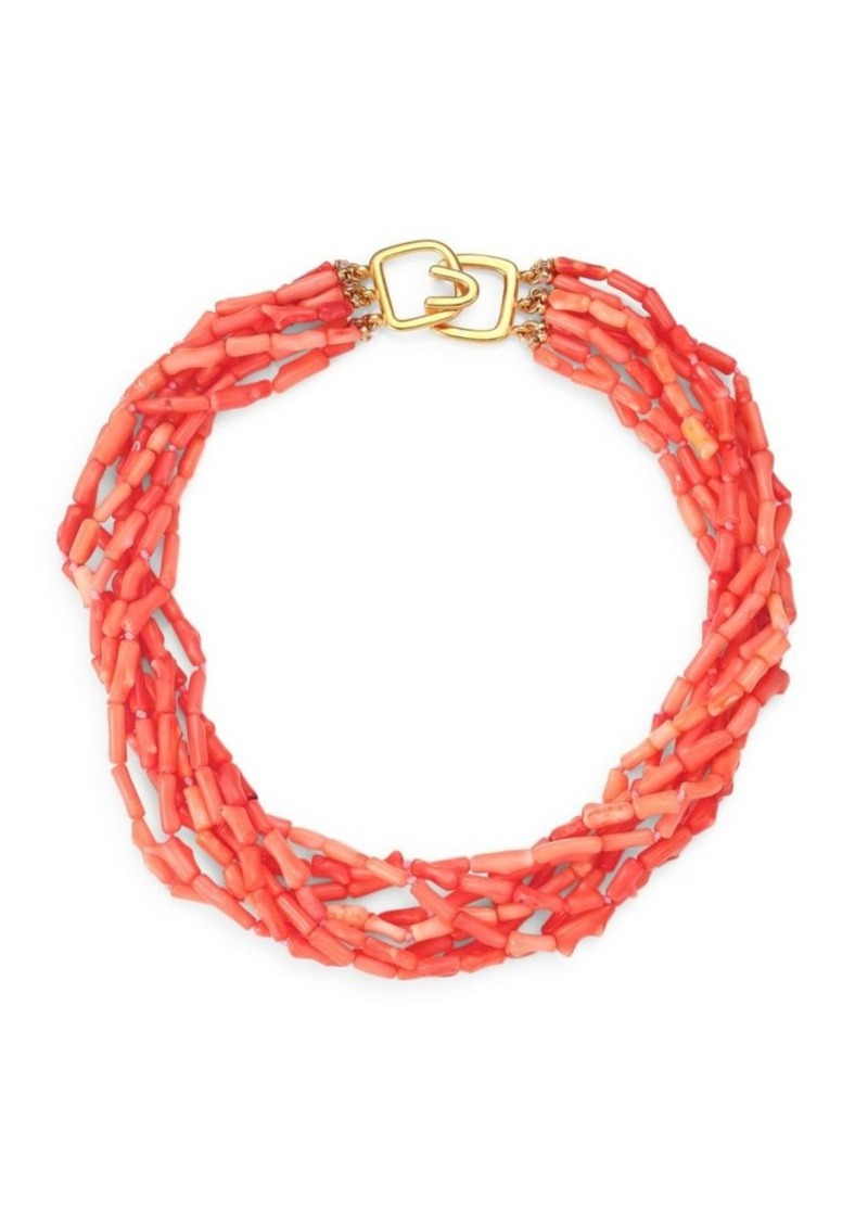 Kenneth Jay Lane Multi-Strand Collar Necklace