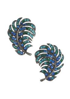 Kenneth Jay Lane Peacock Earrings