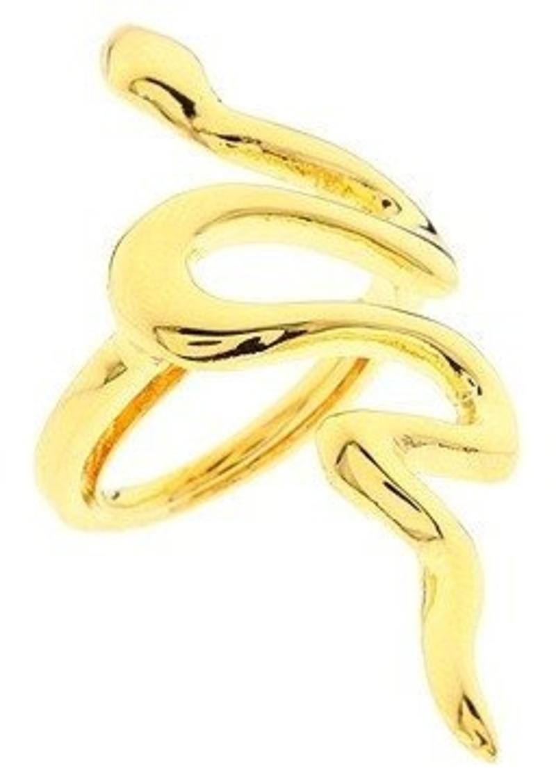 Kenneth Jay Lane Polished Snake Ring