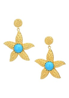 Kenneth Jay Lane Starfish Earrings