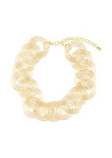 Kenneth Jay Lane swirls necklace