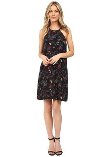 Kensie Bird Floral Dress KS0K7269