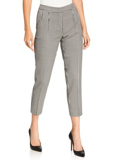 Kensie Checkmate Cropped Pants