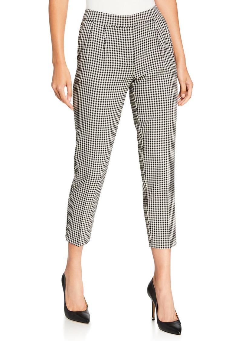 Kensie Checkmate Cropped Pants