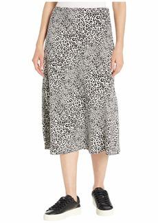 Kensie Cheetah Print Skirt KS9K6360