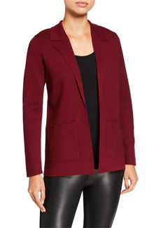 Kensie Comfy Notch-Collar Cardigan
