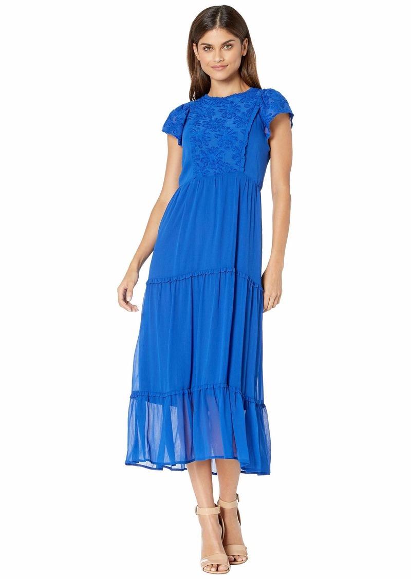 Kensie Crinkle Chiffon Dress KS9K8398