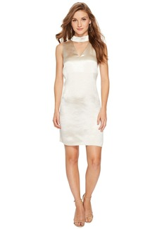 Kensie Crinkled Satin Dress KSNU7058