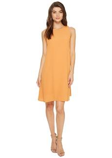 kensie Women's Dainty Crepe Sleeveless Dress  M
