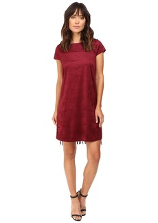 Kensie Drapey Faux Suede Dress KS9K7131