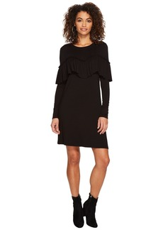 Kensie Drapey French Terry Dress KSDK8106