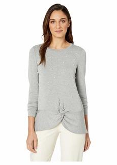Kensie Drapey French Terry Sweatshirt KS1K3778