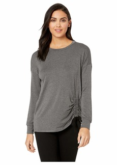 Kensie Drapey French Terry Sweatshirt KSDK3776