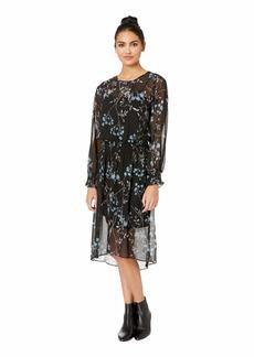 Kensie Frosted Blooms Dress KSDK8317