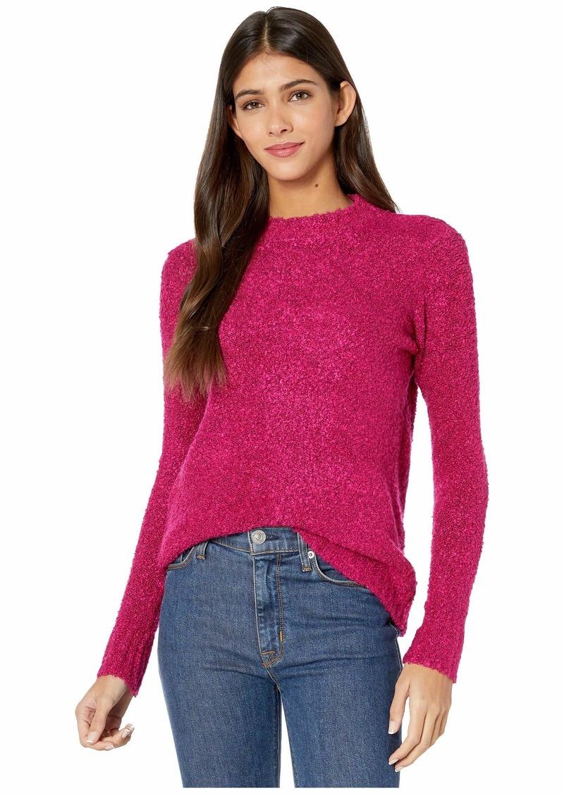 Kensie Fuzzy Boucle Sweater KSDK5953