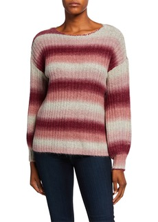 Kensie Fuzzy Knit Sweater