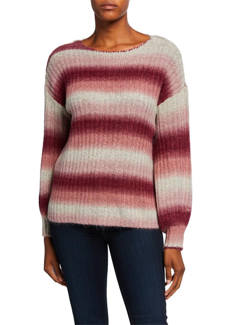 Kensie Fuzzy Knit Sweater