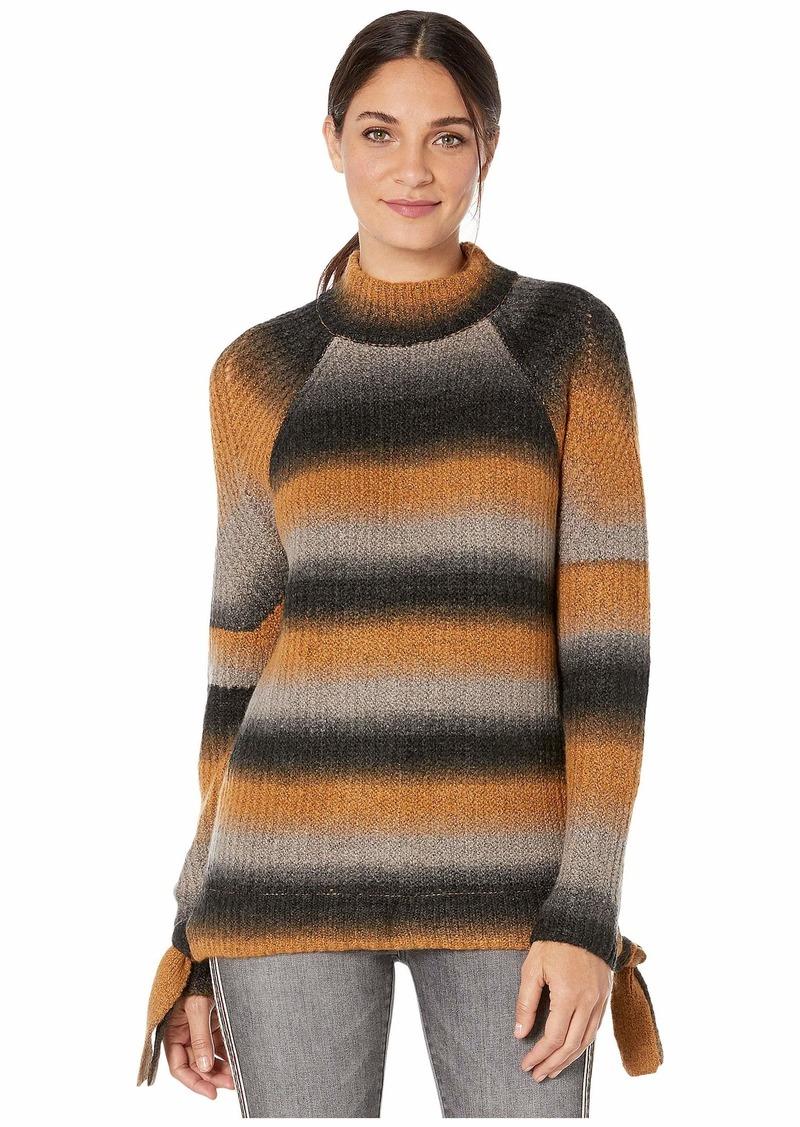 Kensie Fuzzy Sweater Knit Ombre Sweater KSNK5949