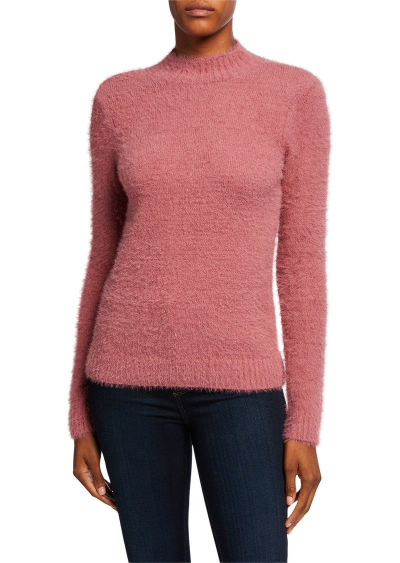 Kensie Fuzzy Yarn Sweater