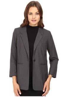 Kensie Heather Stretch Crepe Longer Blazer KS8K2S45