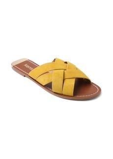 Kensie Kattie Woven Suede Sandals