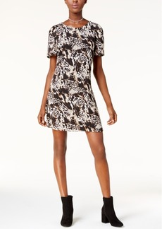 kensie Animal-Print Sheath Dress