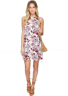 kensie Antique Floral Shift Dress KS2U7S02