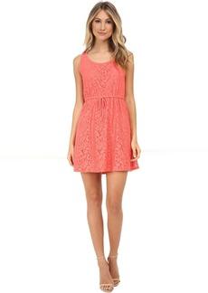 kensie Botanical Lace Dress KS5K7556