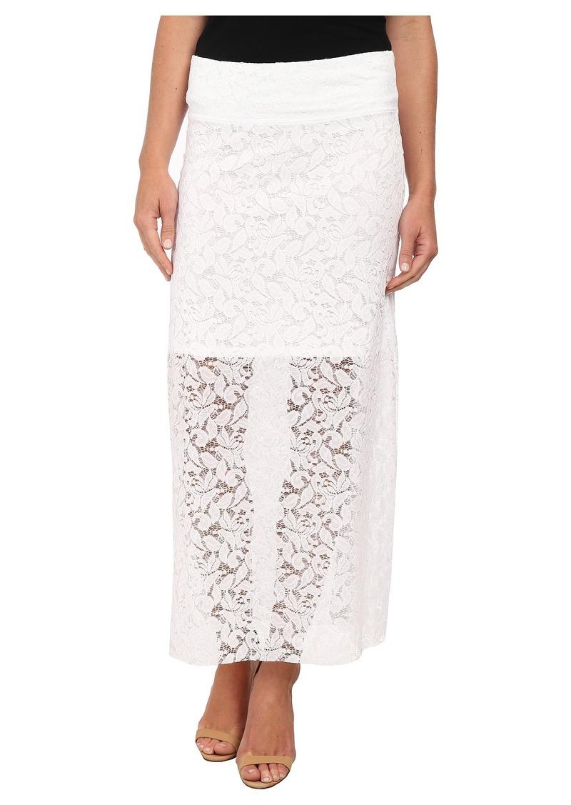 kensie Botnical Lace Skirt KS5K6147