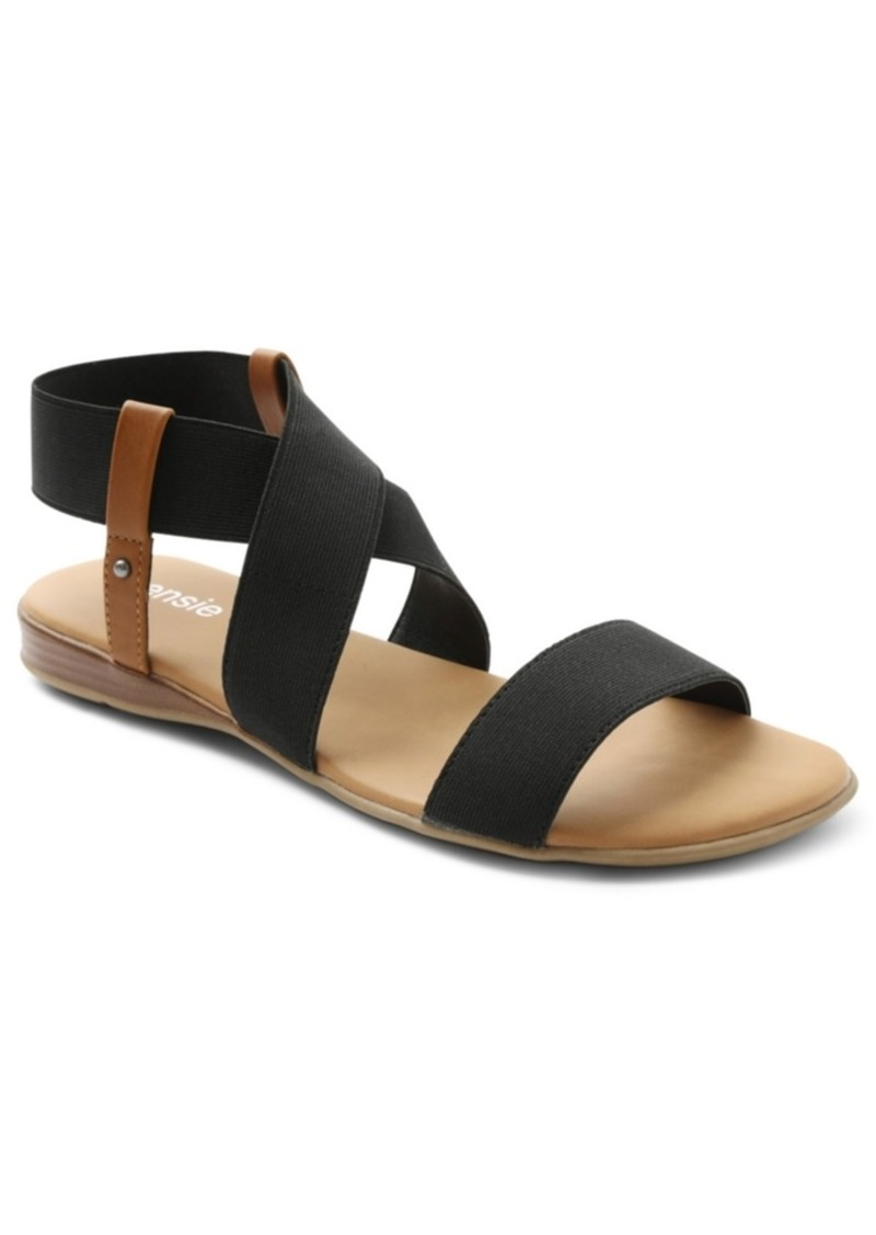 Kensie Brianna Strappy Flat Sandals Women's Shoes