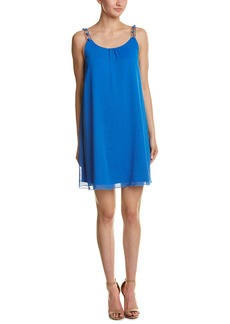 Kensie Chiffon Shift Dress