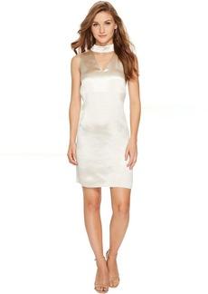 Crinkled Satin Dress KSNU7058