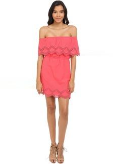 kensie Crochet Embroidered Cotton Dress KS4K920S