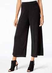 Kensie Cropped Wide-Leg Pants
