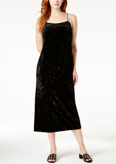 kensie Crushed-Velvet Maxi Dress