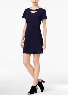 kensie Cutout A-Line Dress