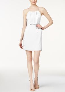 kensie Cutout Lace-Contrast Dress