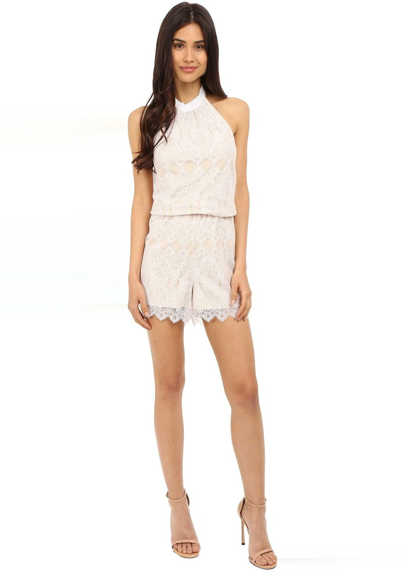 kensie Dainty Lace Jumpsuit KS5K7443
