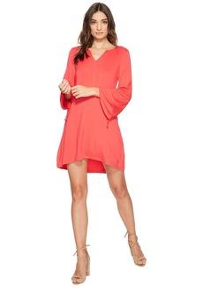 Kensie Drapey French Terry Dress KS2K8171