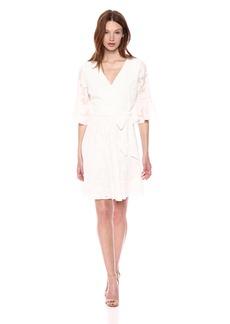 kensie Dress Women's Floral Burnout Dress