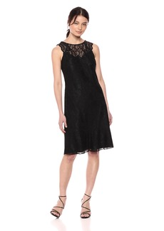 kensie Dress Women's Floral LACE  Dress