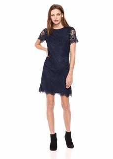 kensie Dress Women's LACE Shirt Dress
