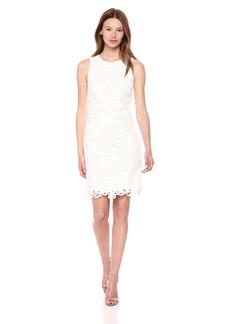 kensie Dress Women's Large Floral LACE Dress