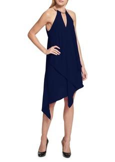 Kensie Dresses Asymmetrical Sleeveless Dress